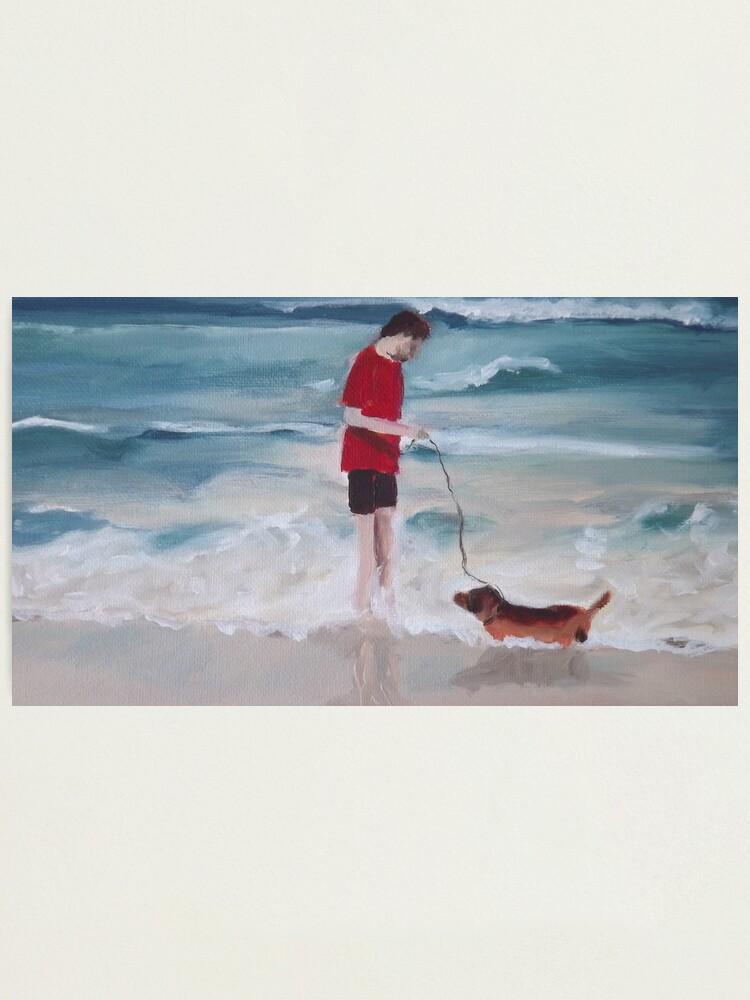 Alternate view of Beach Dog Photographic Print
