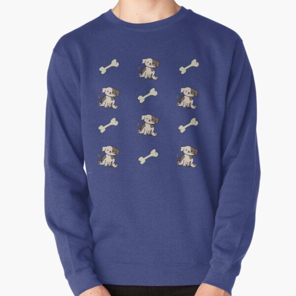 Puppy and Bone Pullover Sweatshirt