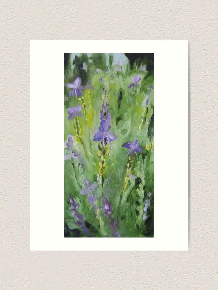Alternate view of Purple Garden Art Print