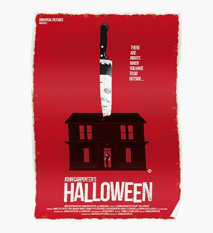 Halloween (Red Collection) Poster