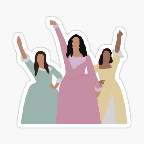 Schuyler Sister  Sticker