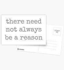 reason~ Postcards