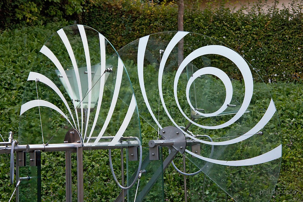 Spinning Water Art by phil decocco