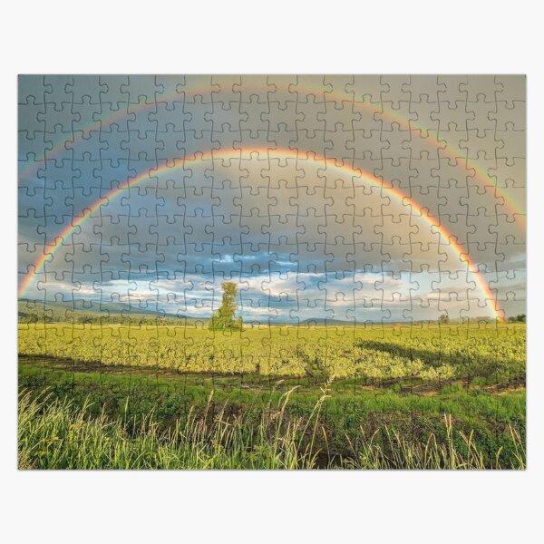 Double Rainbow Puzzle Jigsaw Puzzle