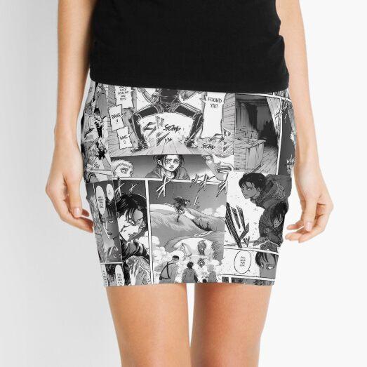 Levi Ackerman Manga panel Mini Skirt
