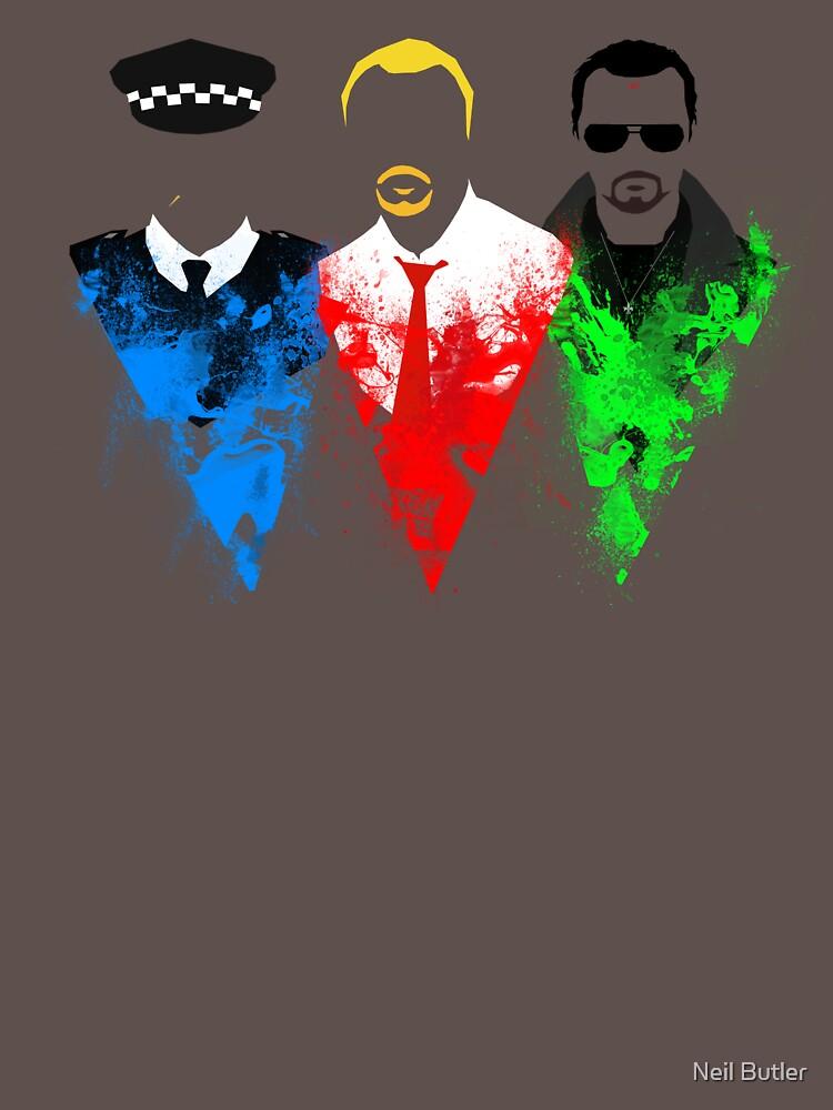 Three Flavours Cornetto | Unisex T-Shirt