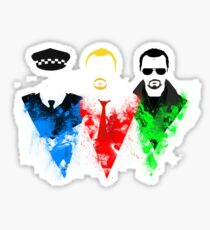 Three Flavours Cornetto Sticker