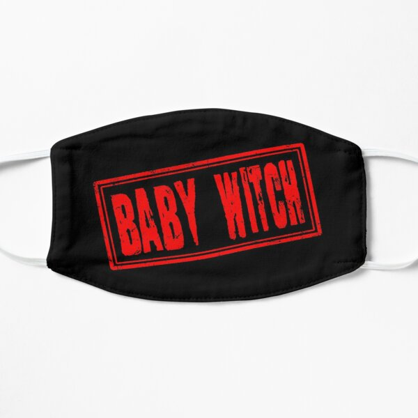 Baby Witch (Vintage Retro Stamp) Mask