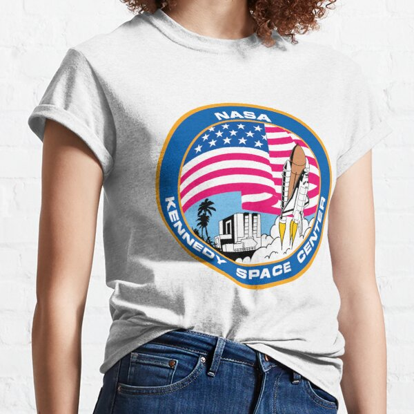 Kennedy Space Sticker Classic T-Shirt
