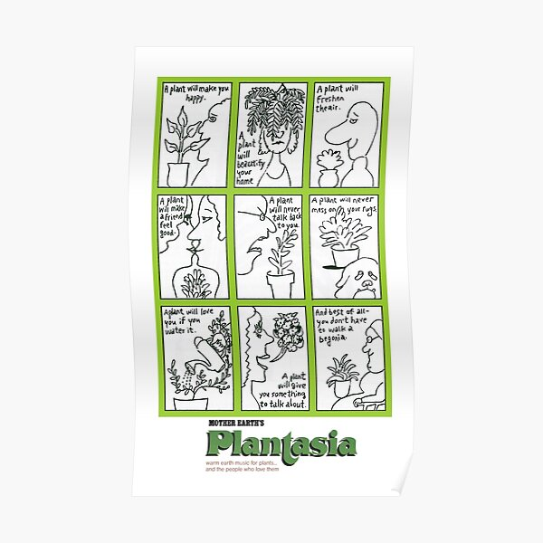 Mother Earth's Plantasia Poster