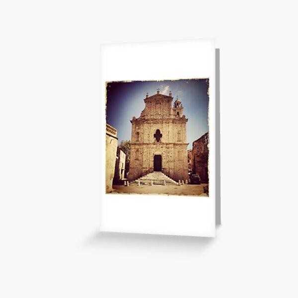 Corsica Greeting Card