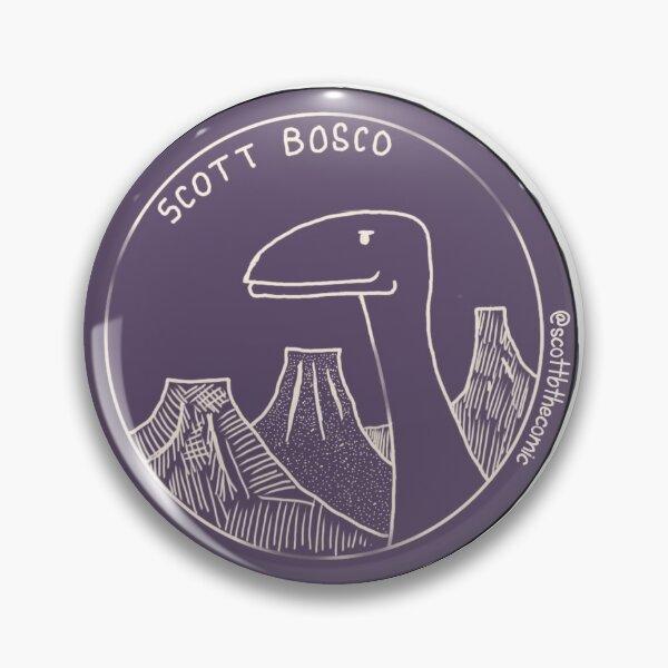 Purple Dino Pin