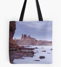 Tantallon Castle view Tote Bag