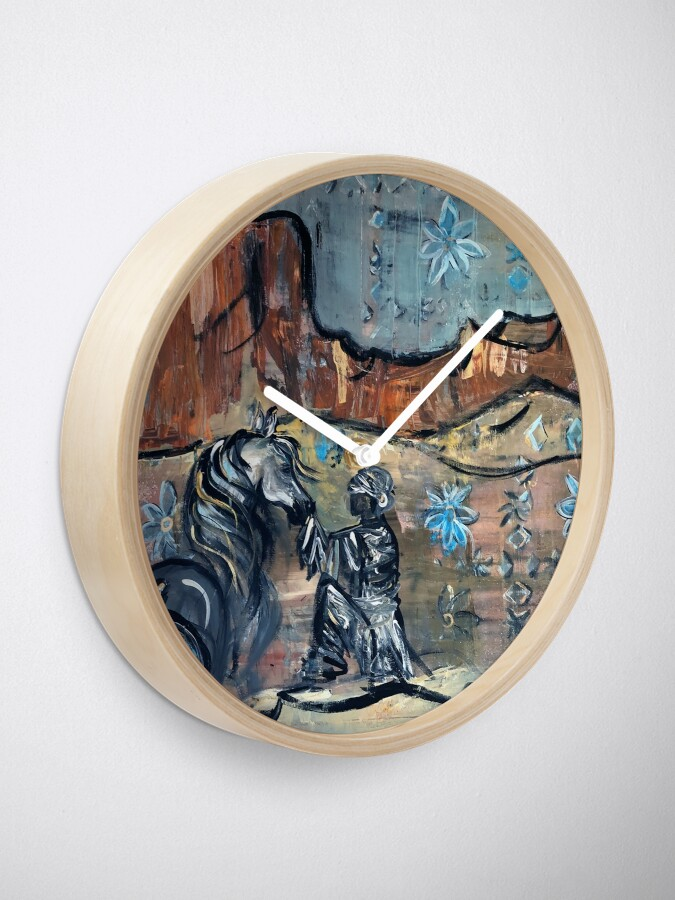 Alternate view of Desert Dream Clock
