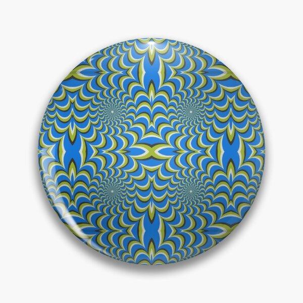 Pixers Optical illusion ellipse swirl Pin