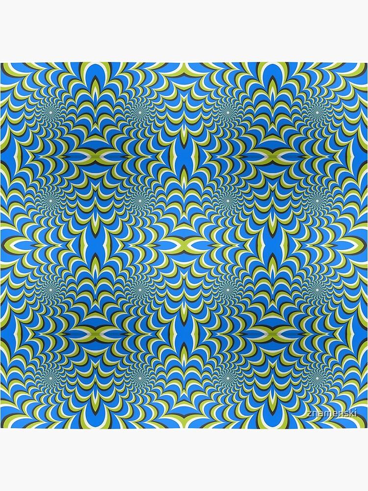 Pixers Optical illusion ellipse swirl by znamenski