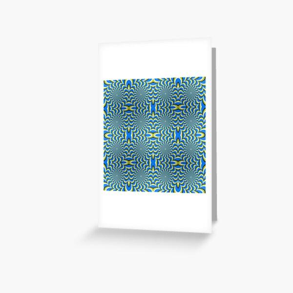 Pixers Optical illusion ellipse swirl Greeting Card