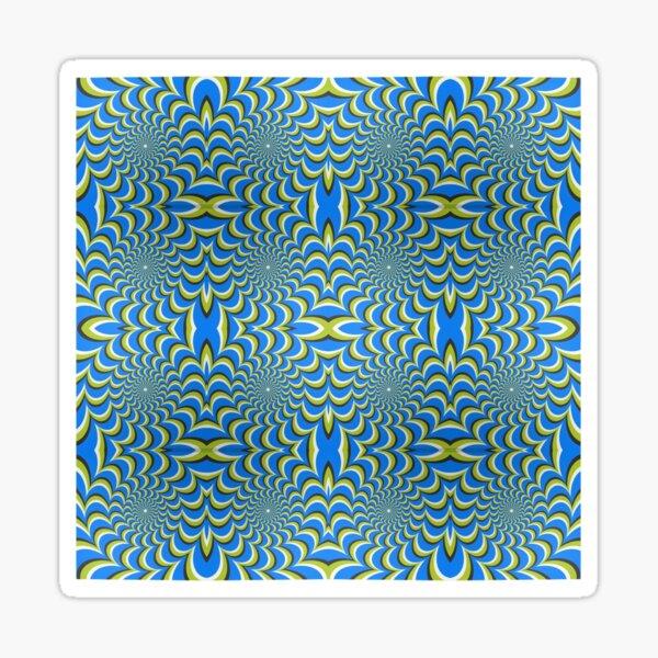 Pixers Optical illusion ellipse swirl Sticker