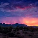 Purple Rain and Pink Skies by Saija  Lehtonen