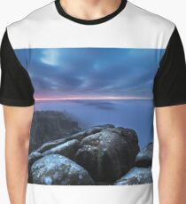 Moonlight Mist and Twilight Graphic T-Shirt