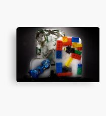 Frozen Toys Canvas Print