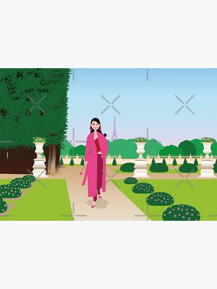 «Paris : jardin du Luxembourg» par ladstudio