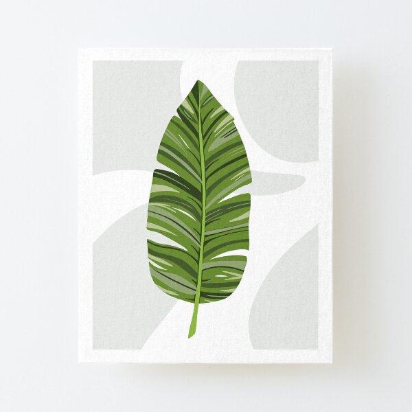 Banana Leaf Canvas Mounted Print