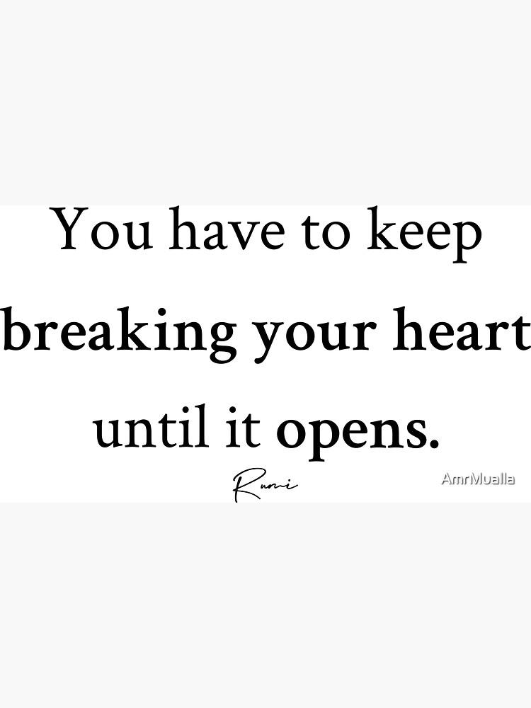 Rumi Heart by AmrMualla