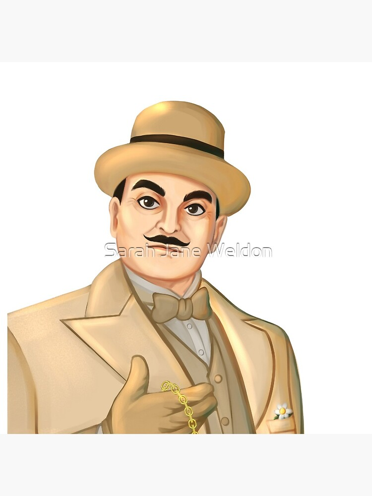 Inspector Hercule Poirot Famous Cozy Murder Mystery Sleuths and Detectives by SarahRowsSolo