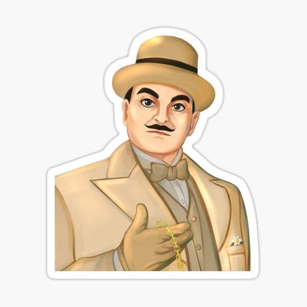Inspector Hercule Poirot  Sticker