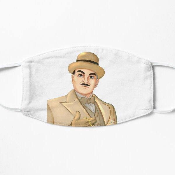 Inspector Hercule Poirot Mascarilla plana