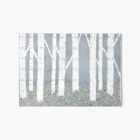 Birch Trees Wall Art Redbubble
