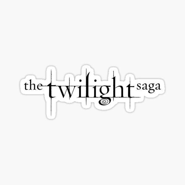 The Twilight Saga Logo Sticker