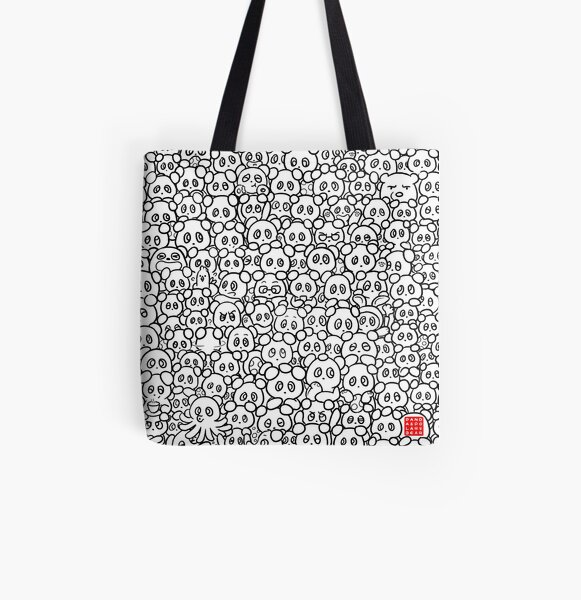 Finding Easter Eggs All Over Print Tote Bag