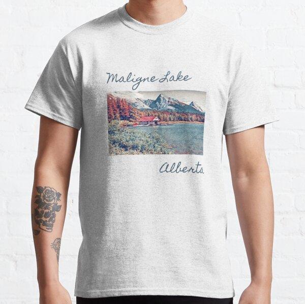 Maligne Lake- Alberta, Canada Classic T-Shirt