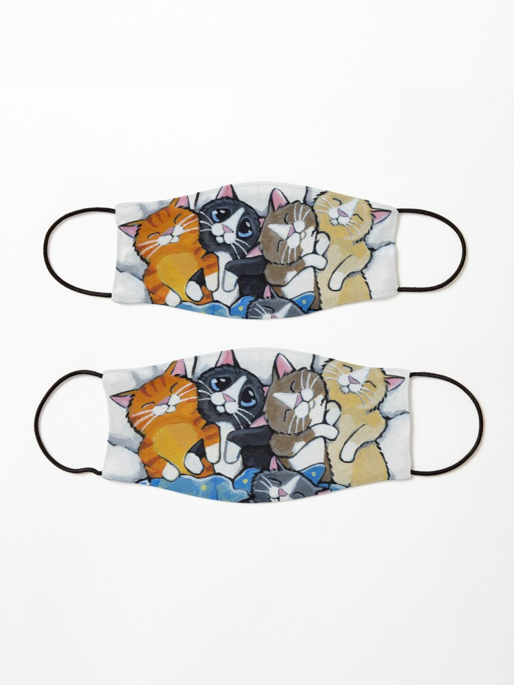 Alternate view of The Sleepover Club - Sleeping Kittens in Bed Mask
