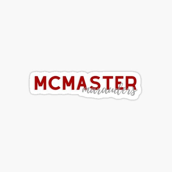 McMaster Marauders Sticker
