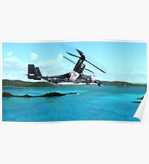 U.S. Air force V-22 Osprey Poster
