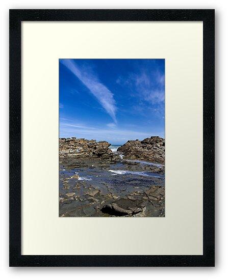 Shellys Beach Kilcunda Victoria  by Melissa Dickson