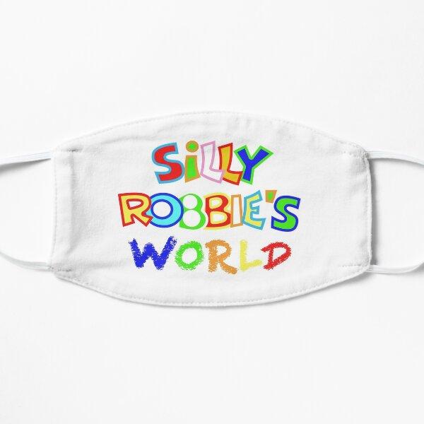 Silly Robbie's World Mask Logo Mask
