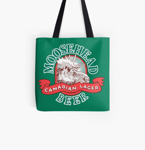 MOOSEHEAD LAGER All Over Print Tote Bag