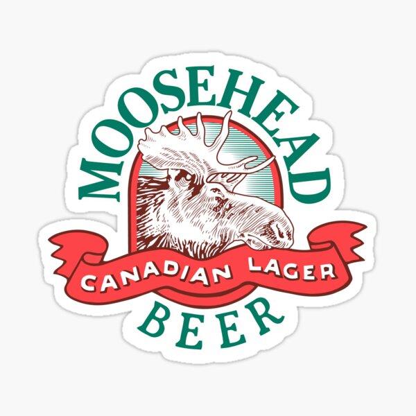 MOOSEHEAD LAGER Sticker