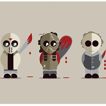 Three Amigos of Horror by GrimmGretchy