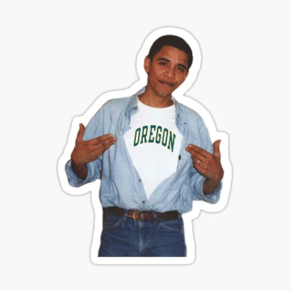 UO-bama Sticker