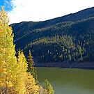 Green Lake on Guanella Pass Road 2  by Robert Meyers-Lussier