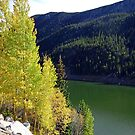 Green Lake on Guanella Pass Road  by Robert Meyers-Lussier