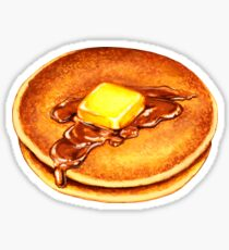 Pancakes Pattern Sticker