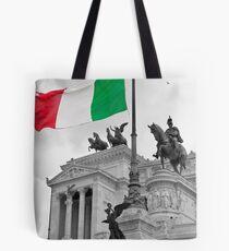Flag Of Italia Tote Bag