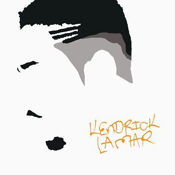 Kendrick Lamar - Minimalistic Print by CongressTart