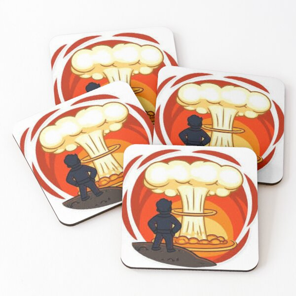 Fallout Coasters (Set of 4)